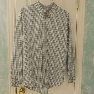 5/$20** Izod Plaid Button Down Shirt